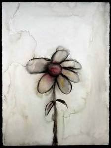 borken-flower-sad-blurred